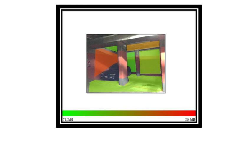 Solución acústica en rampa de garaje comunitario